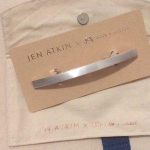 Jen Atkin Silver Clip